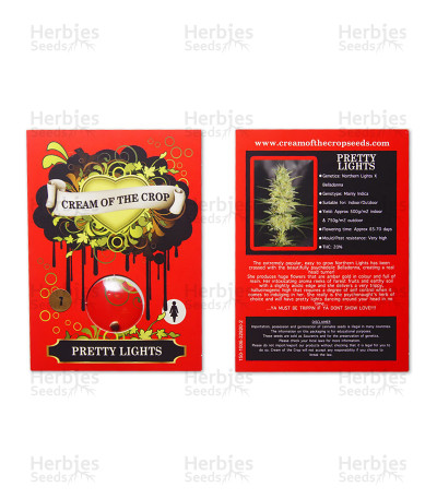 Graines de cannabis Pretty Lights (Cream of the Crop Seeds)