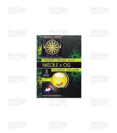 Buy Nicole x OG feminized seeds