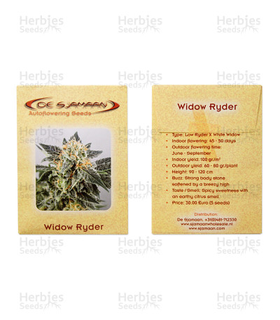 Widow Ryder Auto seeds