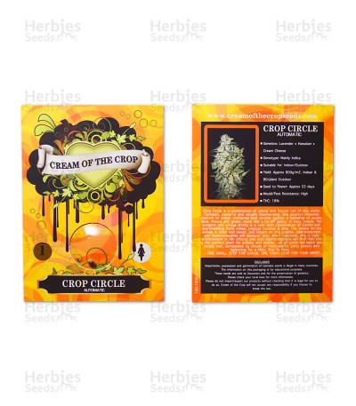 Graines de cannabis Crop Circle Auto (Cream of the Crop Seeds)