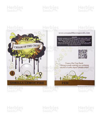 Gorilla Lemon Fire feminized seeds