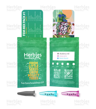 Fem Mix Pack #1 Feminized Seeds from Herbies Seeds