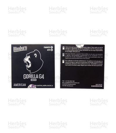 Gorilla G4 Auto (BlimBurn Seeds)