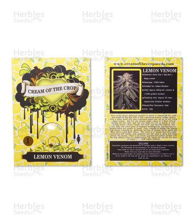 Lemon Venom (Cream of the Crop Seeds) Cannabis-Samen