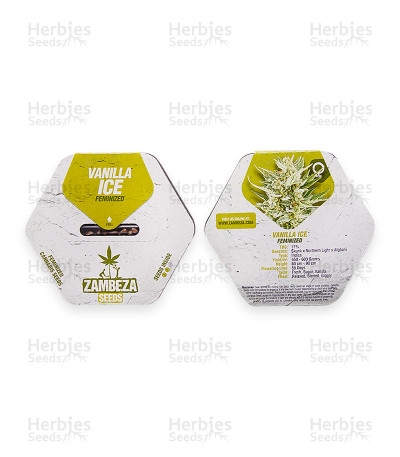 Graines de cannabis Vanilla Ice (Zambeza Seeds)